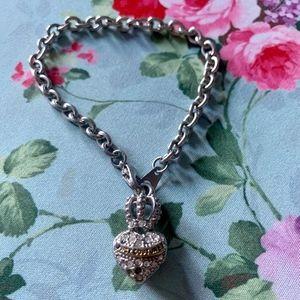 Juicy Couture Crown Heart Bracelet